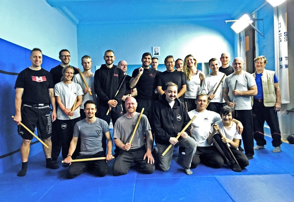 Escrima Seminar with GM Rene Latosa in the SDS-Academy Frankfurt