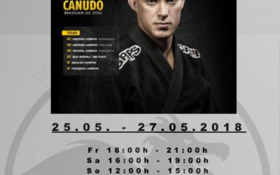 Brazilian Jiu-Jitsu Seminar mit dem elffachen Europameister Sergio Zimmermann Canudo