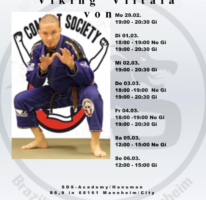 BJJ Camp mit Black Belt Teo Viking Viitala