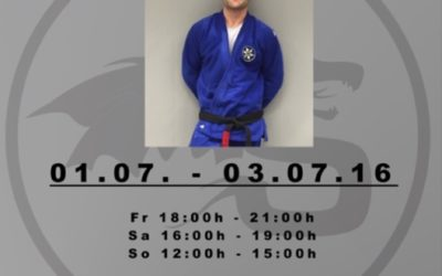 Brazilian Jiu-Jitsu Camp mit Black Belt  Johannes Wieth