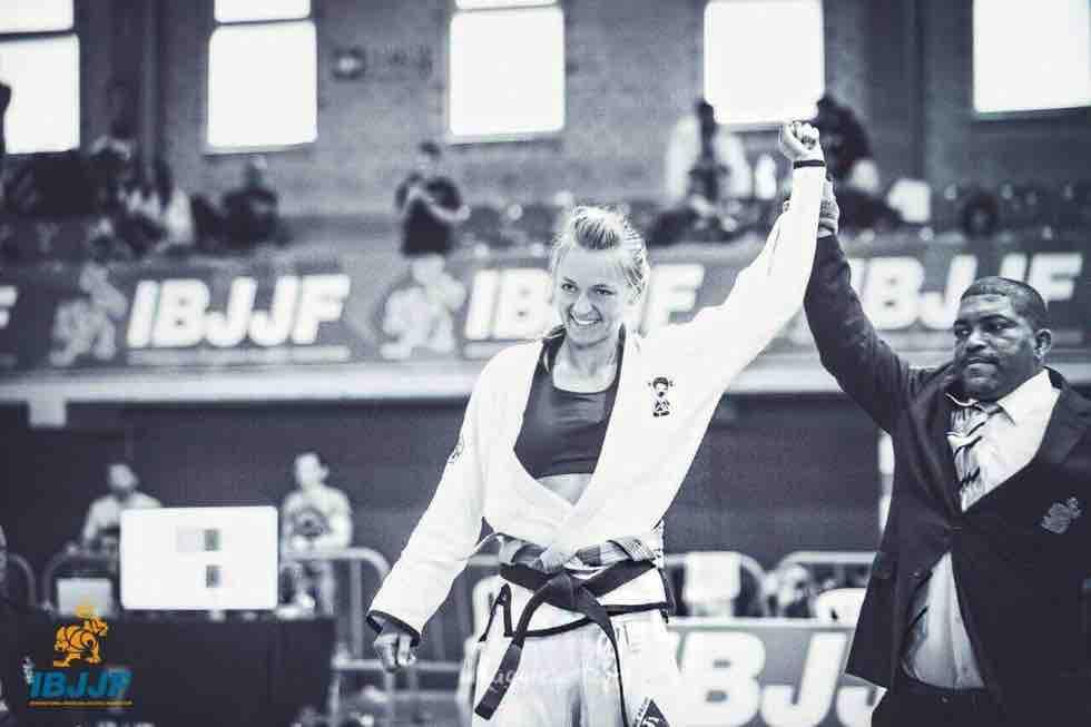 Brazilian Jiu Jitsu ( BJJ ) Seminar mit Blackbelt Charlotte von Baumgarten