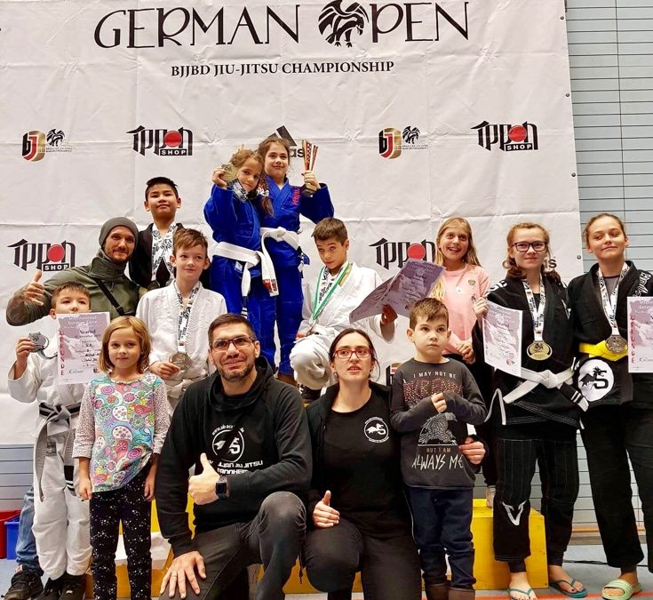 Internationale Deutsche Meisterschaft ( IDM ) im Brazilian Jiu Jitsu