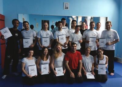 Wing Tzun Prüfungsseminar in der SDS - Academy Frankfurt