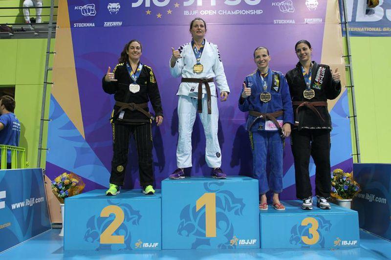 BJJ-Europameisterin Master 1 Cristina Cervelli im Interview