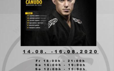 Brazilian Jiu-Jitsu Seminar mit dem elffachen Europameister Sergio Zimmermann Canudo in der SDS-Academy Mannheim