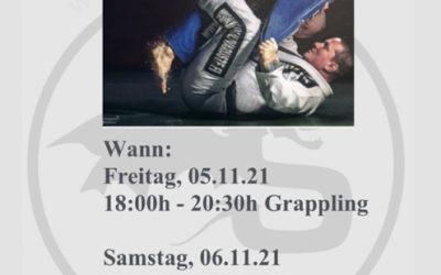 """BJJ Seminar mit Teo """"Viking"""" Viitala in der SDS Academy Mannheim"""